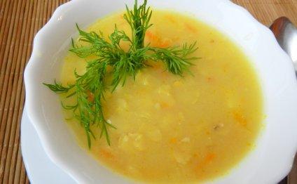 Вкусный гороховый суп в