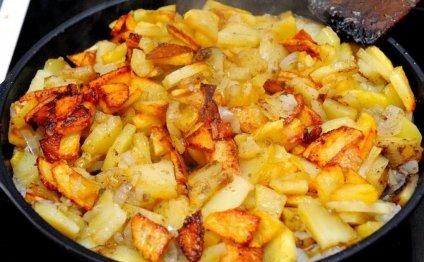 Как жарить картофель