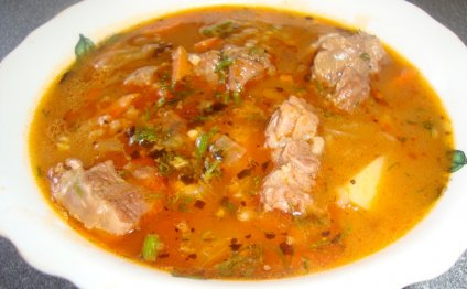 Кулинарные рецепты - Харчо из
