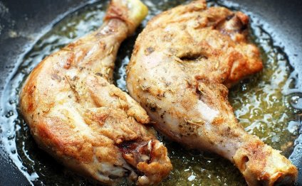 жареные куриные ножки