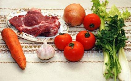 Продукты для мясного соуса