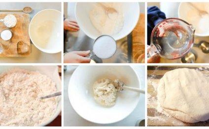 Процесс приготовления соленого
