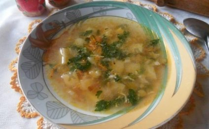 Суп из крапивы с яйцом и мясом