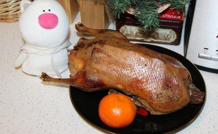 Утка запеченная в духовке