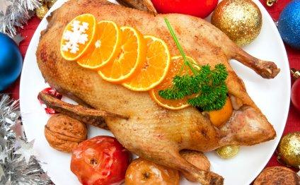 Запеченная утка на Рождество: