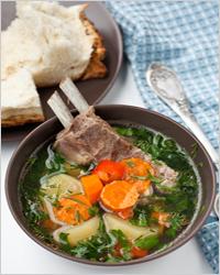 Шурпа из баранины традиционная рецепт